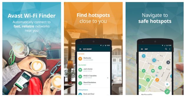 cool apps for android avast wi-fi finder
