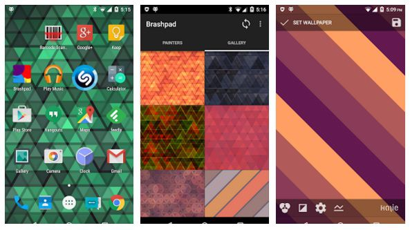 cool apps for android brashpad