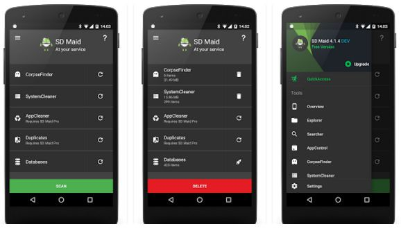 cool apps for android sd maid